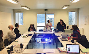 Atelier Ethnoart questionner et eclairer