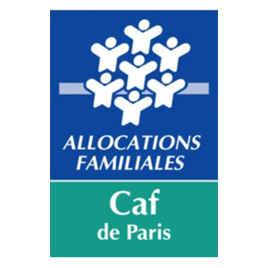 Logo Caf de Paris