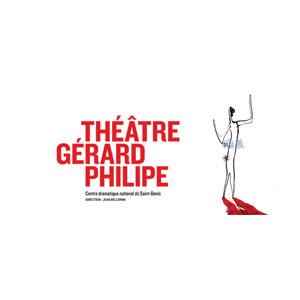 Logo du Théâtre Gérard Philipe Saint Denis